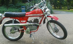 1974 Gilera 50 trail. For Sale