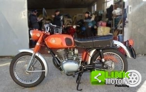 1971 GILERA 124 4V ISCRITTA FMI TUTTA ORIGINALE For Sale