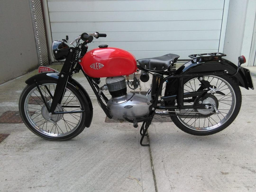 1953 Gilera 150, 125 + Bianchi 125 Superdeals, For Sale (picture 1 of 6)