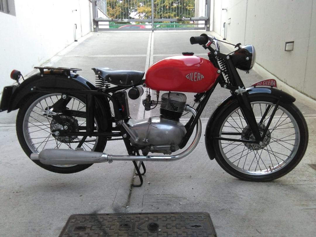 1953 Gilera 150, 125 + Bianchi 125 Superdeals, For Sale (picture 2 of 6)