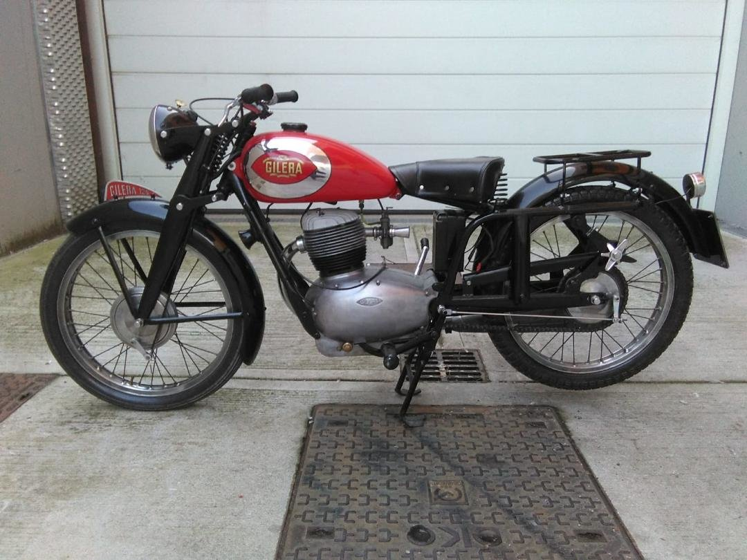 1953 Gilera 150, 125 + Bianchi 125 Superdeals, For Sale (picture 3 of 6)