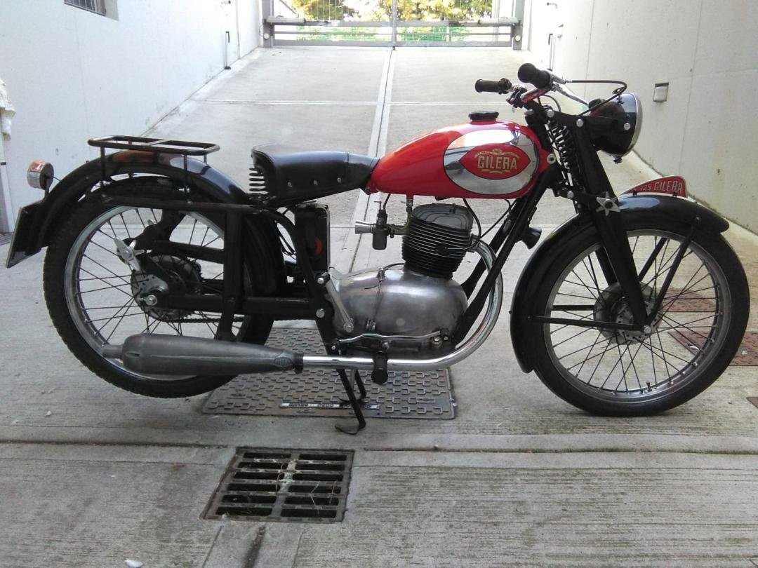 1953 Gilera 150, 125 + Bianchi 125 Superdeals, For Sale (picture 4 of 6)