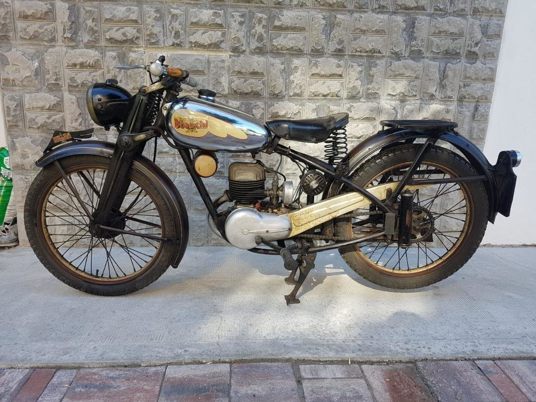 1953 Gilera 150, 125 + Bianchi 125 Superdeals, For Sale (picture 5 of 6)