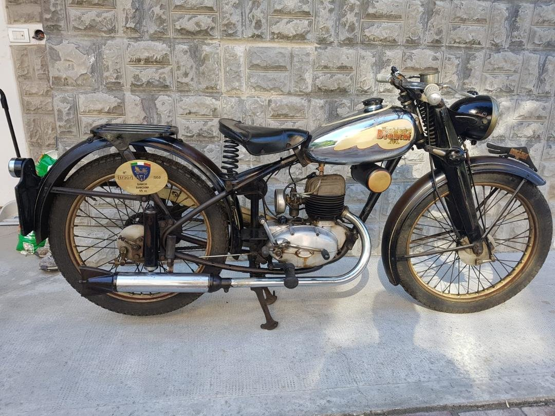 1953 Gilera 150, 125 + Bianchi 125 Superdeals, For Sale (picture 6 of 6)