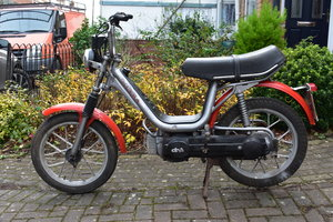 Lot 18 - A 1984 Gilera CBA 50cc moped - 02/2/2020  SOLD by Auction
