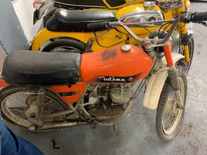 1970s Gilera Trials 50 PROJECT For Sale