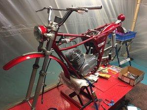 1975 gilera 50 trial uk sports moped