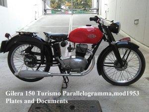 1953 Gilera 150 Turismo Parallelogrammo For Sale
