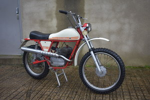 Lot 52 - A 1971 Gilera 50 5V Trial - 09/2/2020 For Sale by Auction