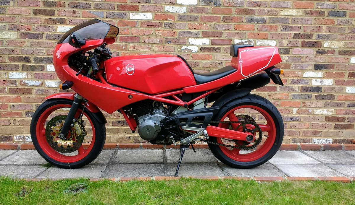 1991 Gilera Saturno Nuovo 500 SOLD (picture 1 of 6)