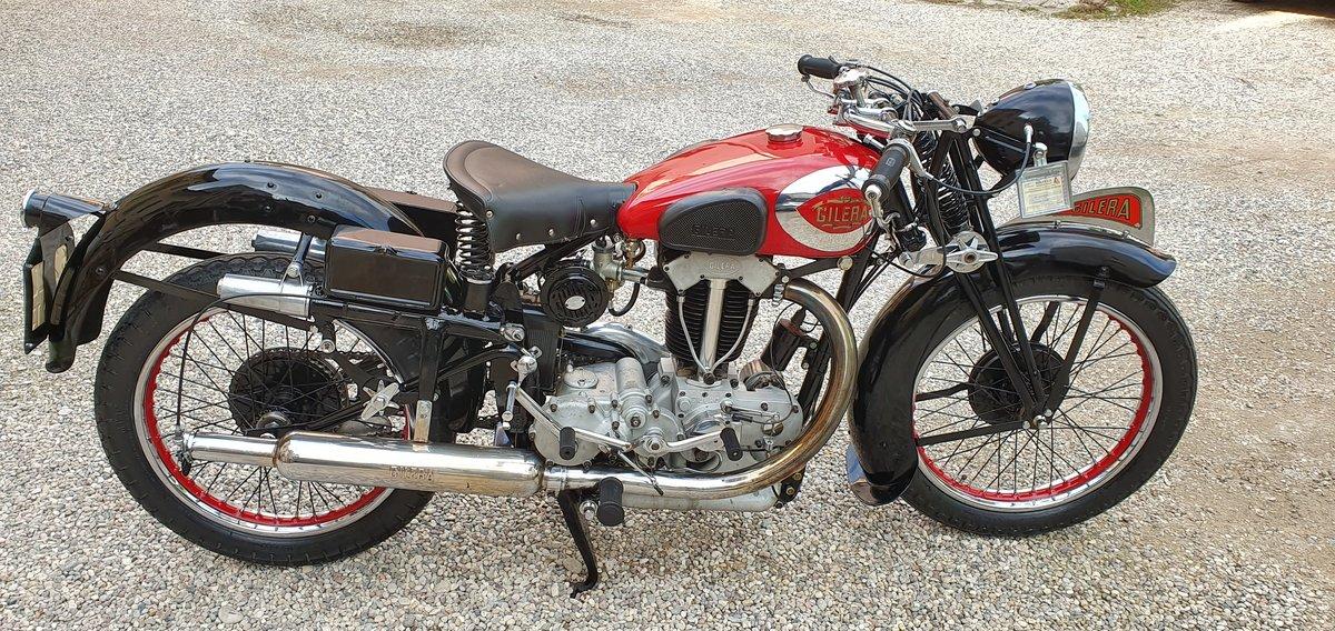 1940 Moto Gilera VTE Quattro Bulloni For Sale (picture 1 of 6)