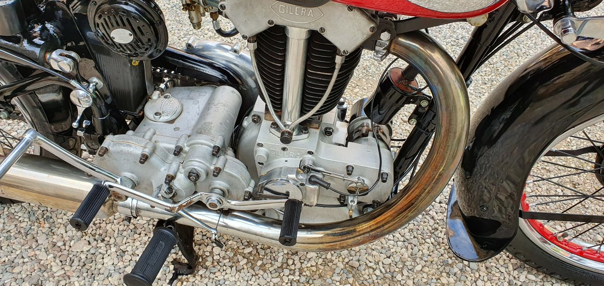 1940 Moto Gilera VTE Quattro Bulloni For Sale (picture 2 of 6)