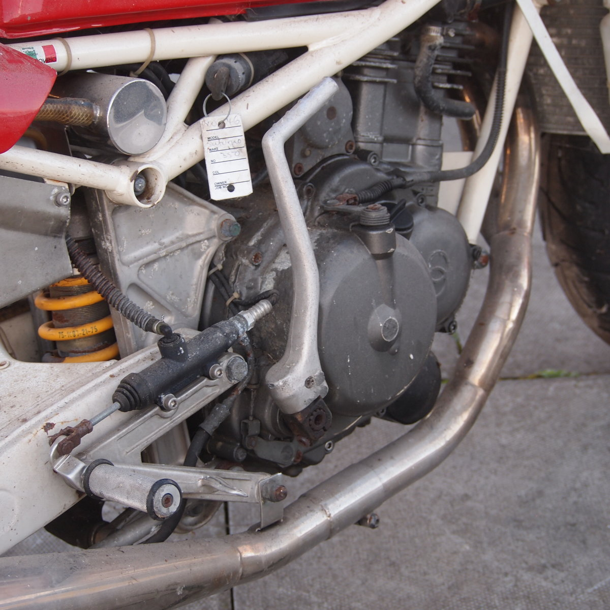 1989 Gilera Saturno 350cc RESERVED FOR CHRIS. SOLD (picture 6 of 6)