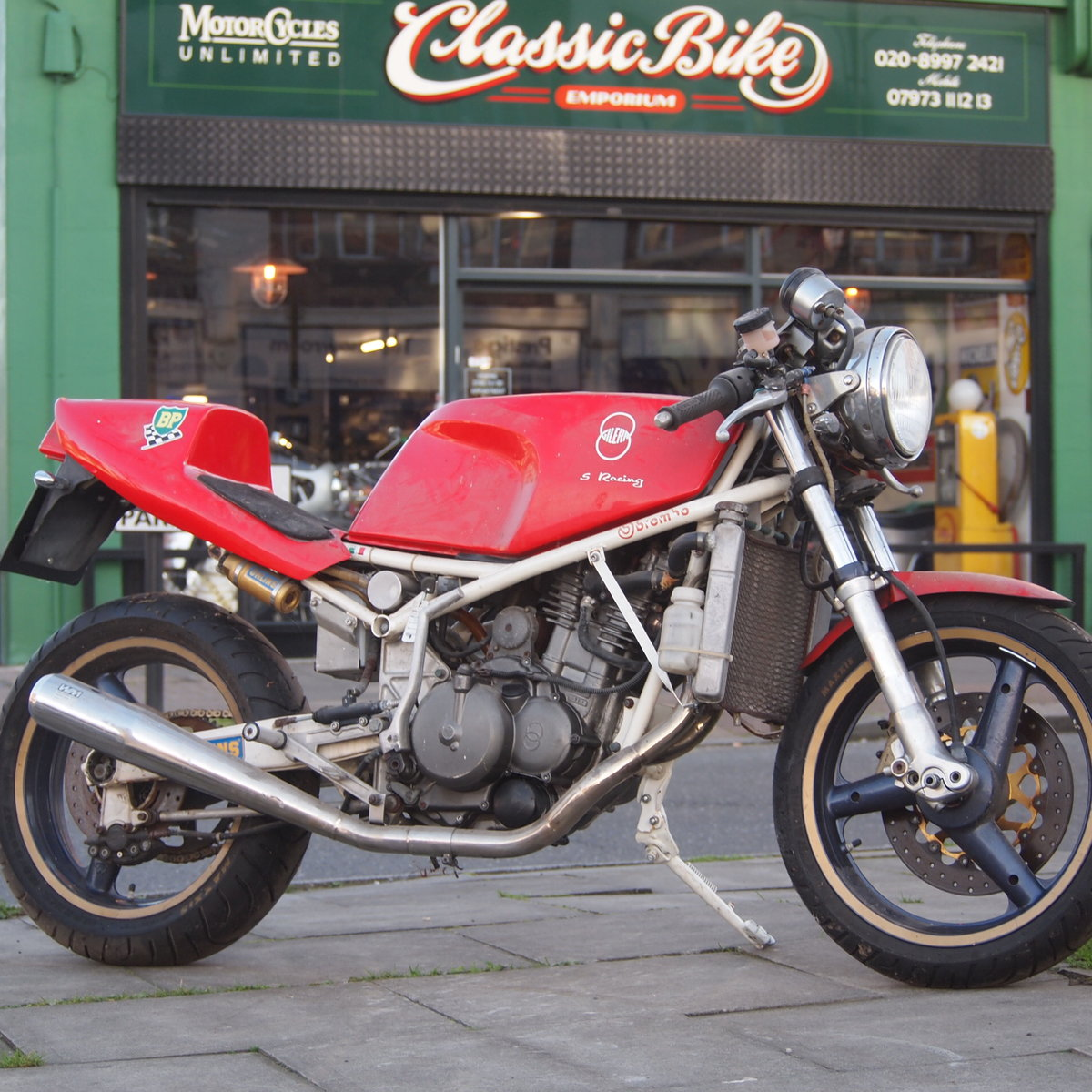1989 Gilera Saturno 350cc RESERVED FOR CHRIS. SOLD (picture 1 of 6)