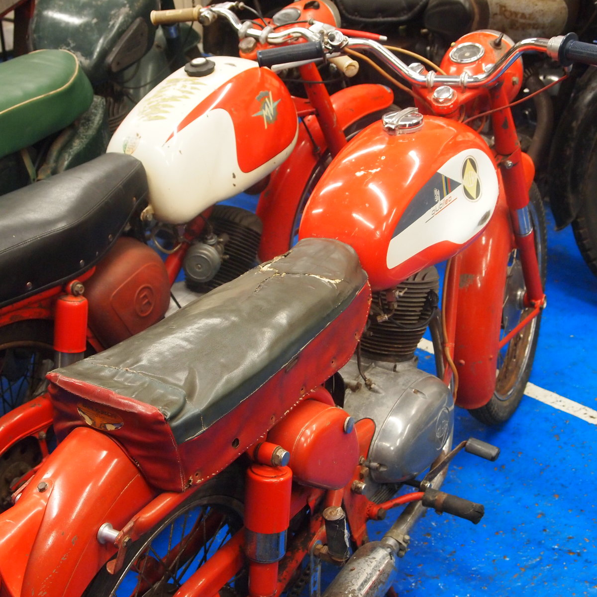 1962 Gilera Giubileo 98cc Classic RESERVED FOR AMANDA. SOLD (picture 1 of 6)