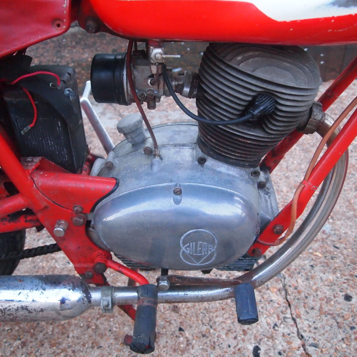 1962 Gilera Giubileo 98cc Classic RESERVED FOR AMANDA. SOLD (picture 4 of 6)