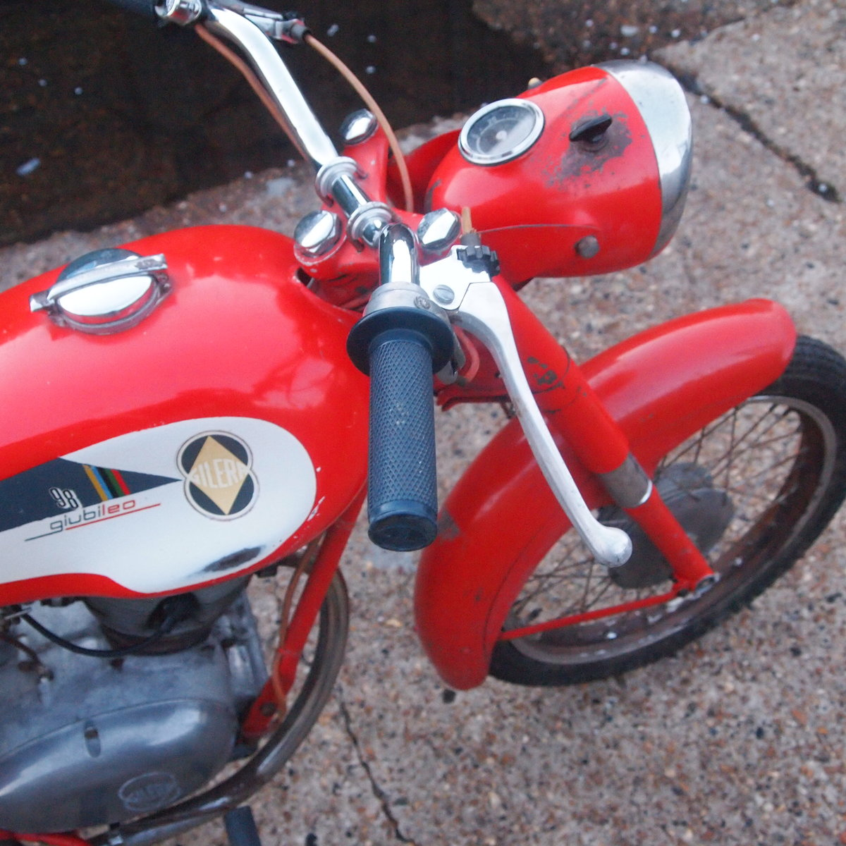 1962 Gilera Giubileo 98cc Classic RESERVED FOR AMANDA. SOLD (picture 5 of 6)