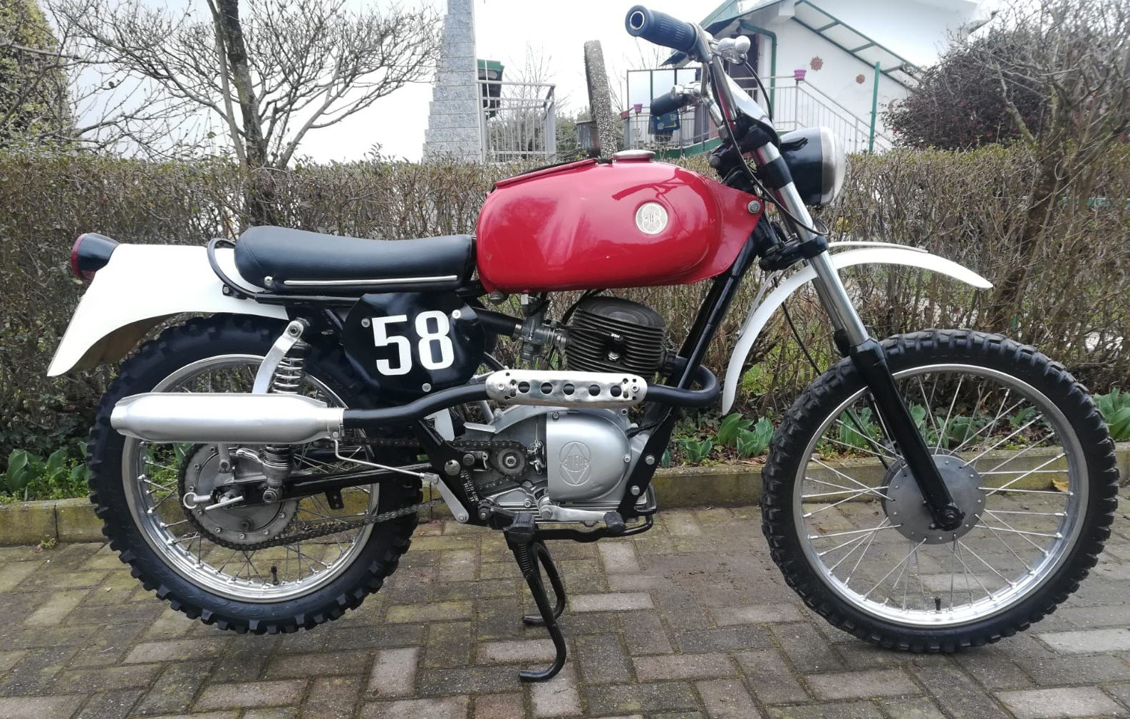 1972 Gilera 124cc Regolarita' Competizione For Sale (picture 1 of 6)