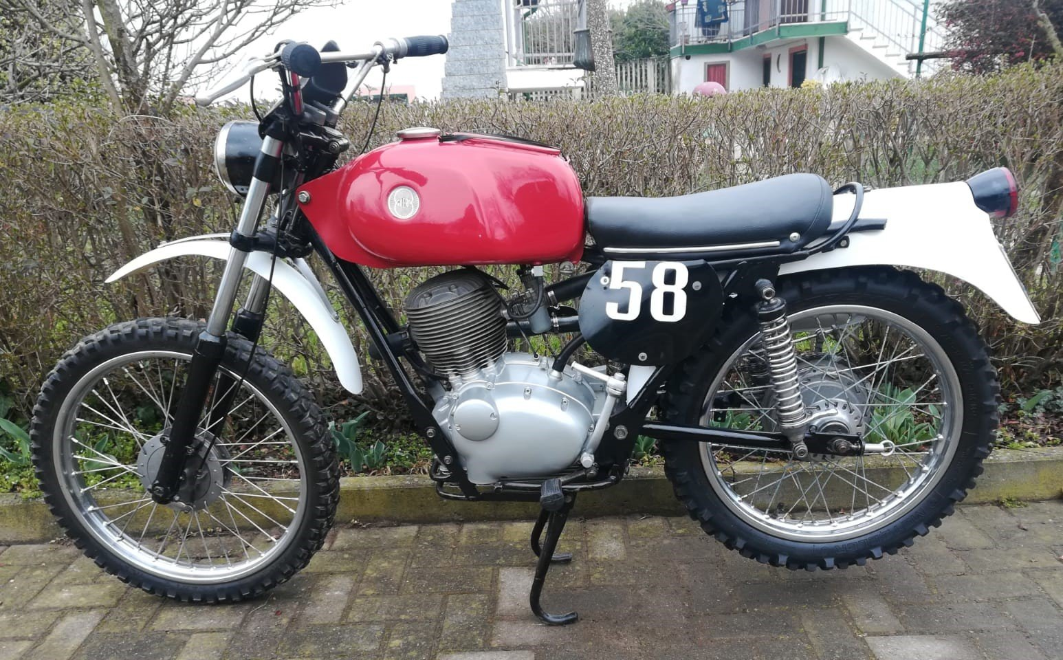 1972 Gilera 124cc Regolarita' Competizione For Sale (picture 2 of 6)