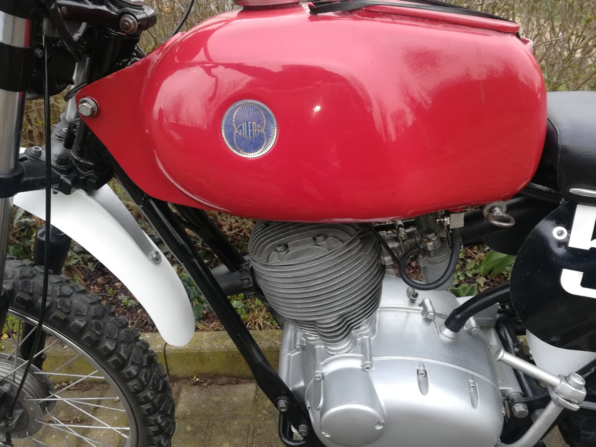 1972 Gilera 124cc Regolarita' Competizione For Sale (picture 3 of 6)