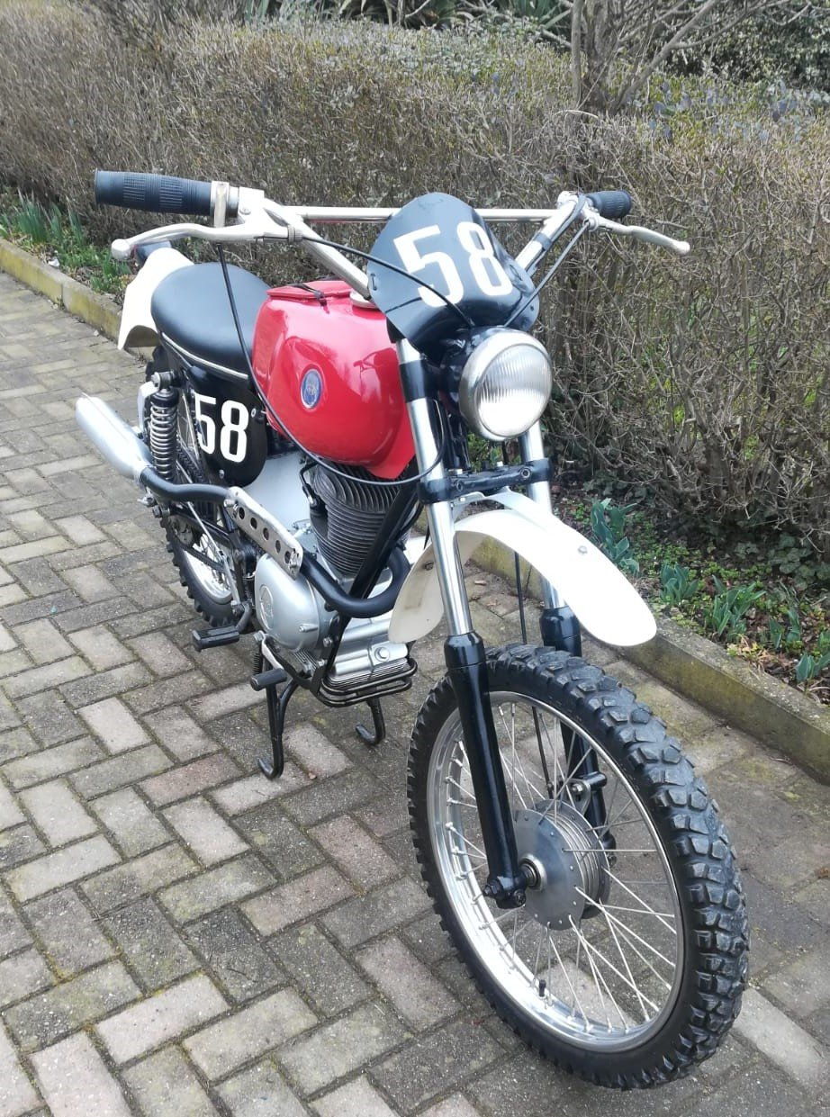1972 Gilera 124cc Regolarita' Competizione For Sale (picture 4 of 6)