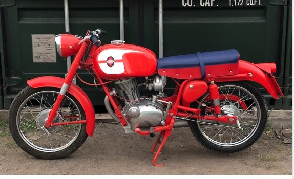 1969 Gilera Giubileo 150 ~ Stunning bike For Sale (picture 1 of 6)