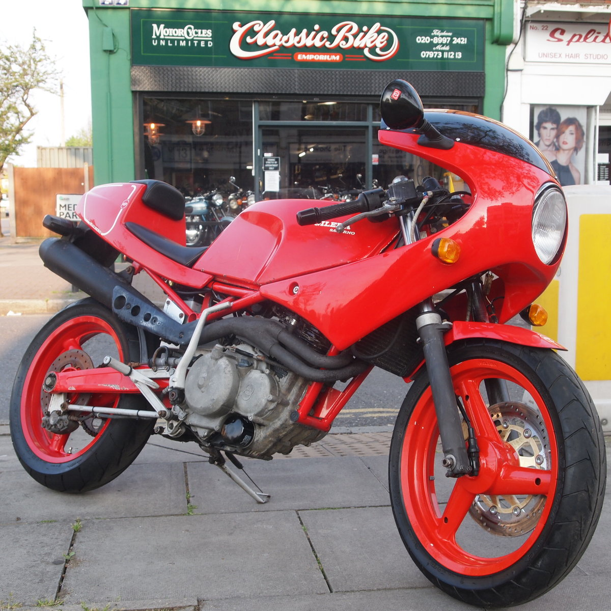 1989 Gilera Saturno Fitted With Running Paris Daker 550cc Unit. SOLD (picture 2 of 6)