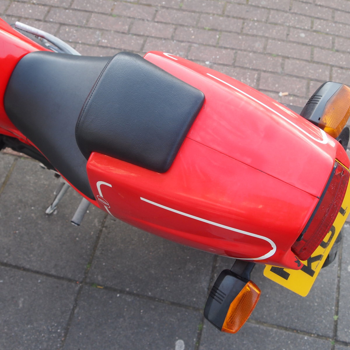 1989 Gilera Saturno Fitted With Running Paris Daker 550cc Unit. SOLD (picture 4 of 6)