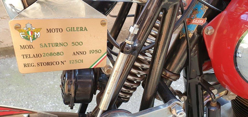 1950 GILERA SATURNO SPORT For Sale (picture 3 of 6)