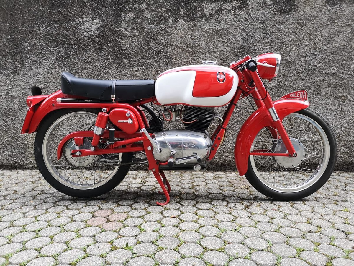 1958 Gilera 175 Rossa Extra For Sale (picture 1 of 6)