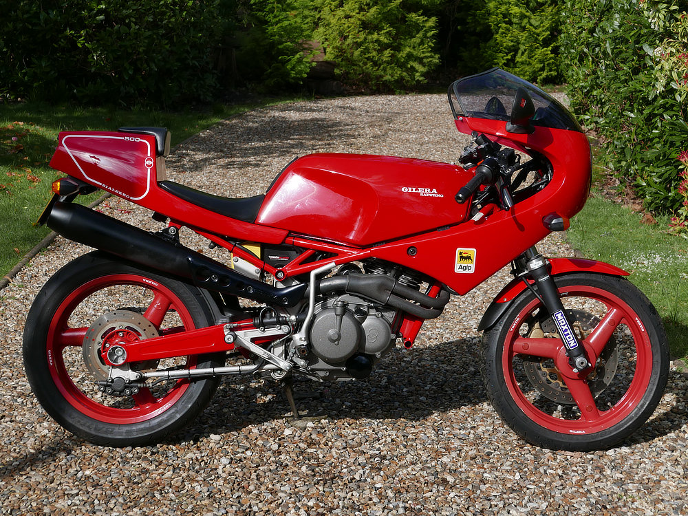 Gilera Nuovo Saturno 500 1995 For Sale (picture 1 of 6)