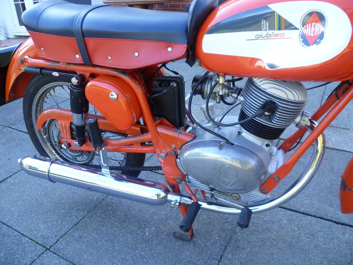 1966 Gilera Giubileo 98 Original For Sale (picture 4 of 6)
