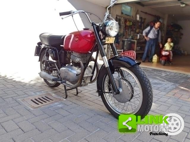1958 GILERA B 300 EXTRA TARGA ORO For Sale (picture 6 of 6)