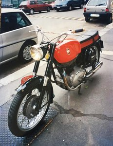 1962 Gilera B300 Extra not restored