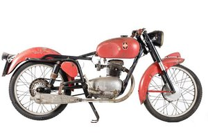 C.1955 GILERA 125 TURISMO (SEE TEXT) (LOT 550)