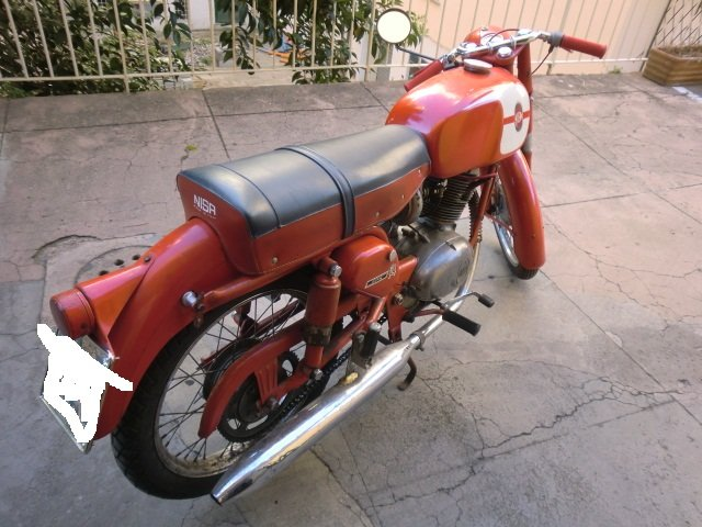 1960 Vintage gilera 125 For Sale (picture 3 of 4)