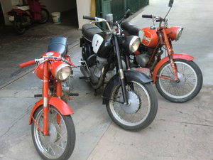 Picture of 1967 Gilera 300 extra  twin