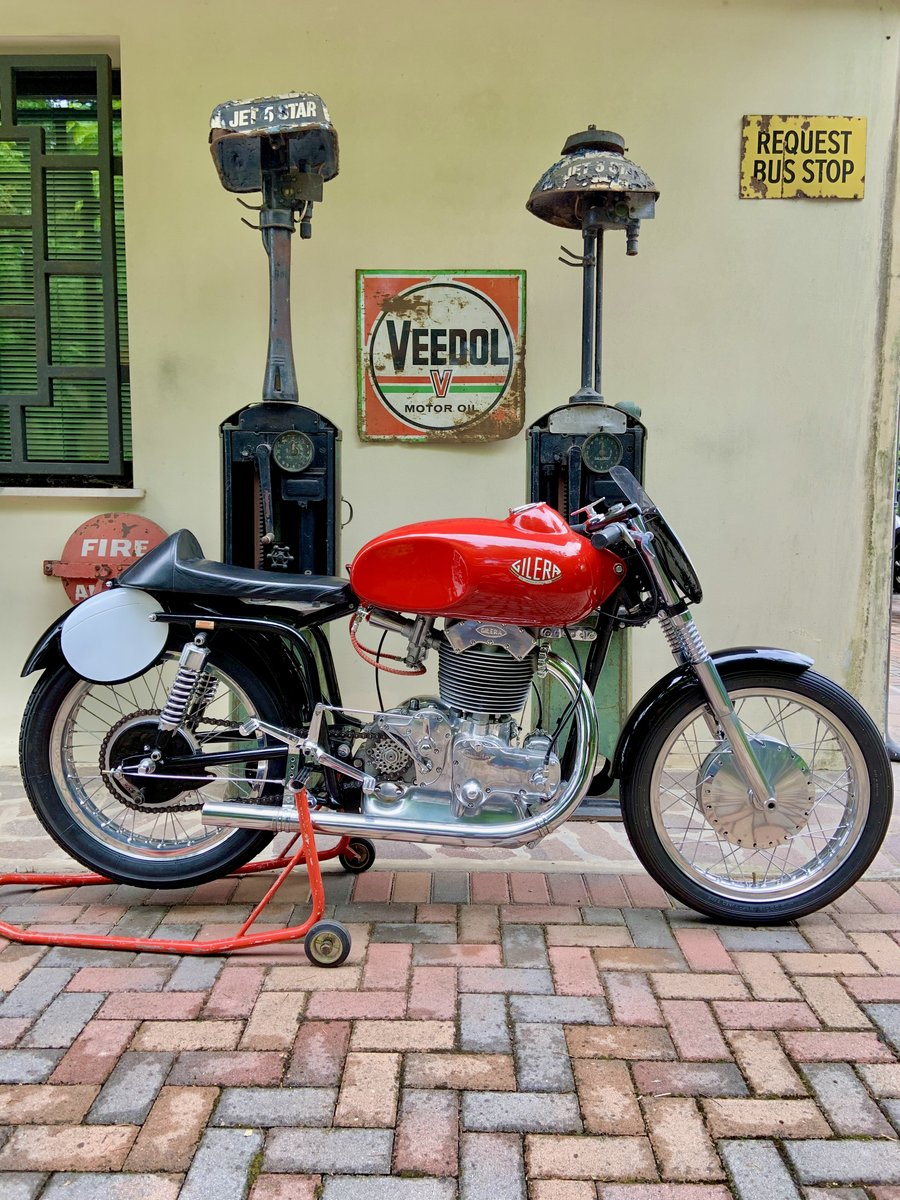 1956 Gilera 500 Saturno Piuma For Sale (picture 1 of 6)