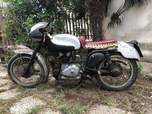 Picture of 1952 Gilera Nettuno 250 race twin cam