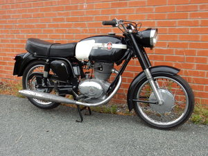 Gilera  175 Super  1965  Matching Frame & Engine Numbers