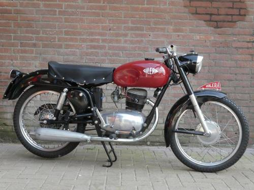 1953 Gilera 150 Sport Low miles For Sale (picture 1 of 6)