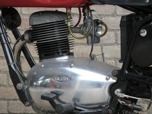 1953 Gilera 150 Sport Low miles For Sale (picture 5 of 6)