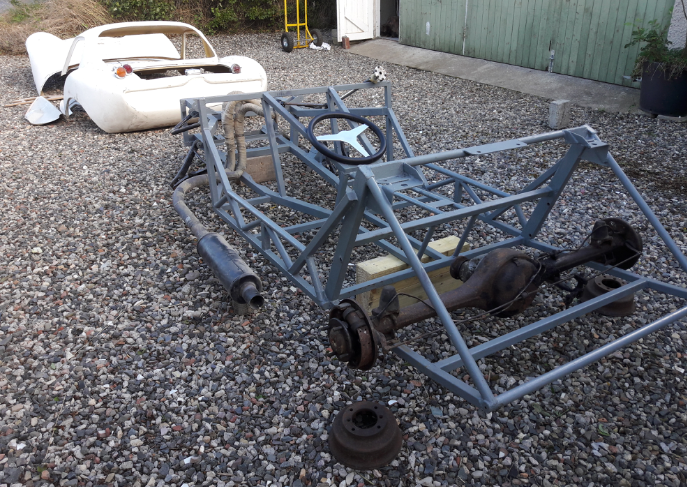 1968 Ginetta g4 project. SOLD (picture 4 of 5)