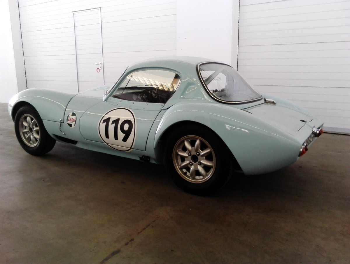 1964 Ginetta G4 round tube race car SOLD (picture 2 of 6)