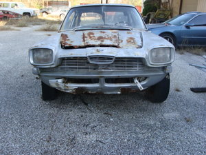 1964 Glaserati 2600 V8 Frua Project For Sale