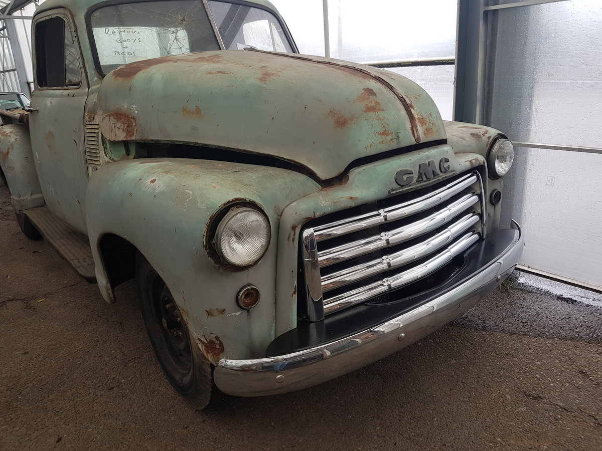 1953 GMC Pick up truck For Sale (picture 2 of 6)