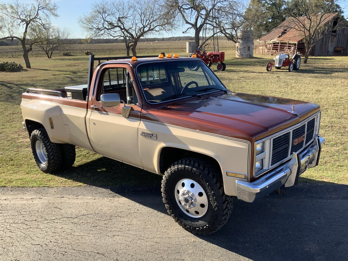 1986 86 GMC 3500 Dually 454 Granny 4-Speed PS PB AC For Sale (picture 1 of 6)