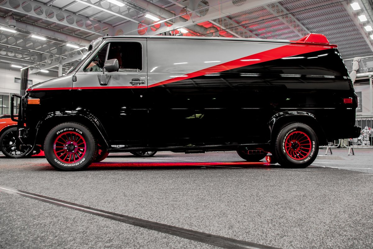 1990 GMC Vandura - The A Team Van For Sale (picture 1 of 6)