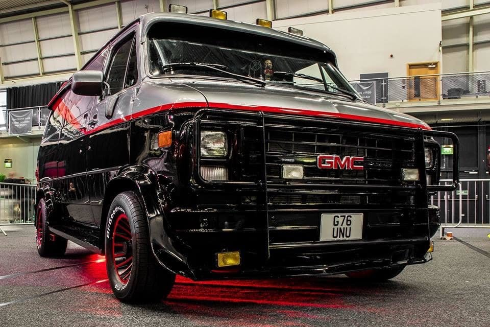 1990 GMC Vandura - The A Team Van For Sale (picture 2 of 6)