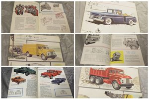 Picture of 0000 GMC ORIG SALES BROCHURES WHOLE RANGE 1960S TO 1975